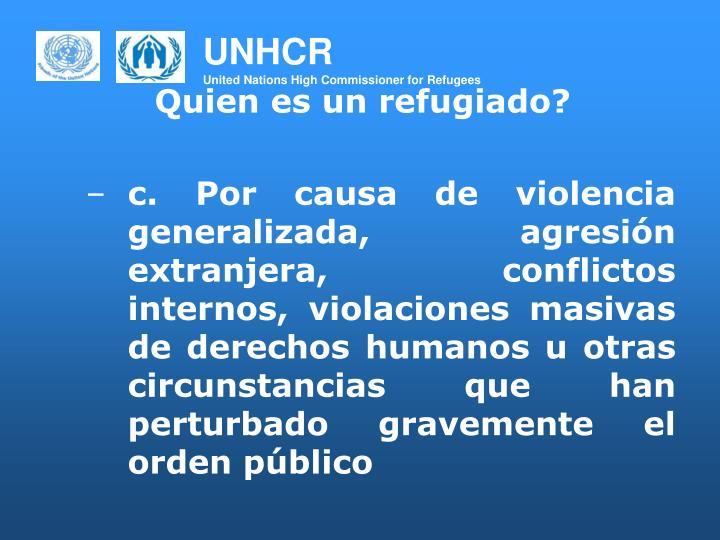 Quien es un refugiado?