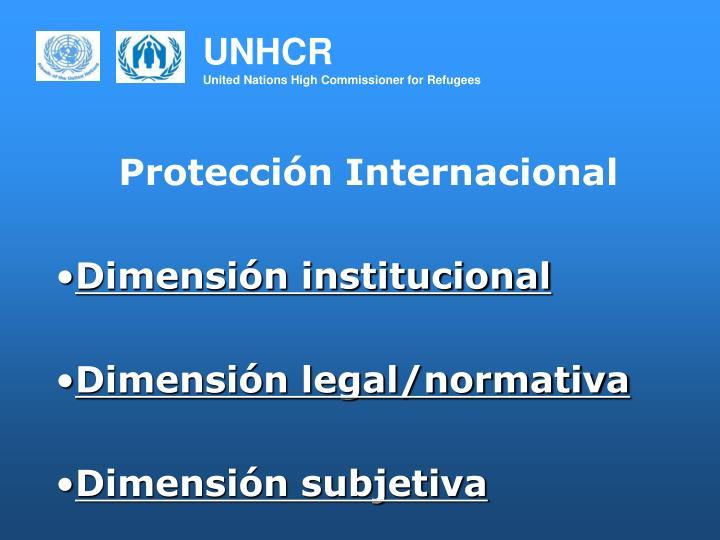 Protección Internacional