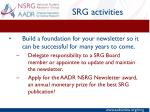 srg activities7