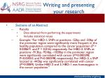 writing and presenting your research5