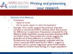 writing and presenting your research6