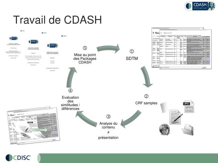 Travail de CDASH