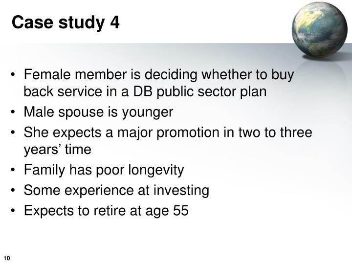 Case study 4