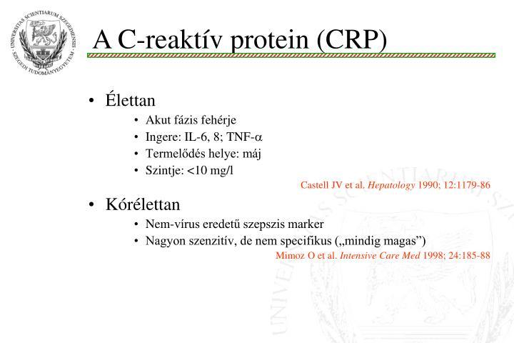 A C-reaktív protein (CRP)