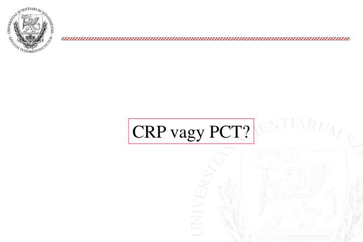 CRP vagy PCT?