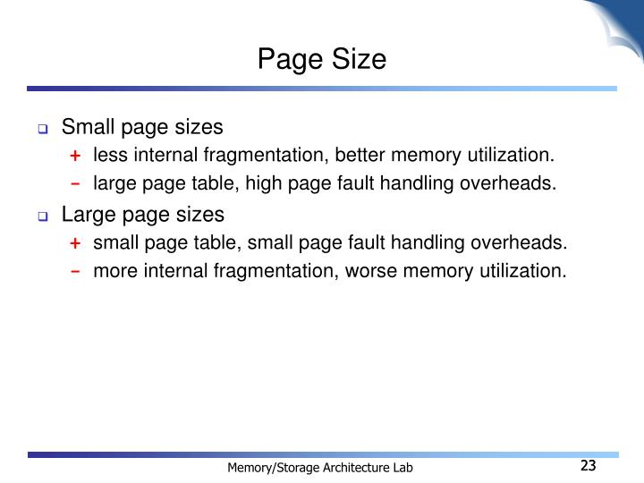 Page Size