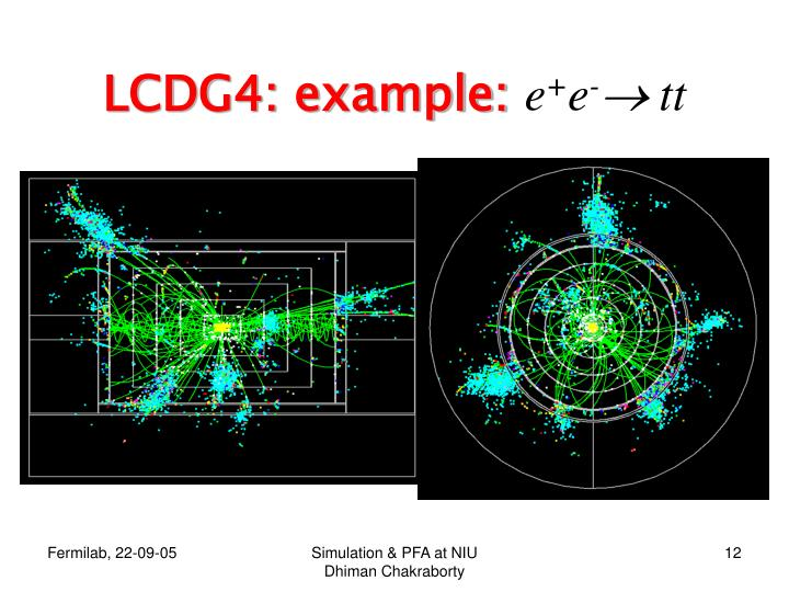 LCDG4: example: