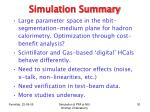 simulation summary1
