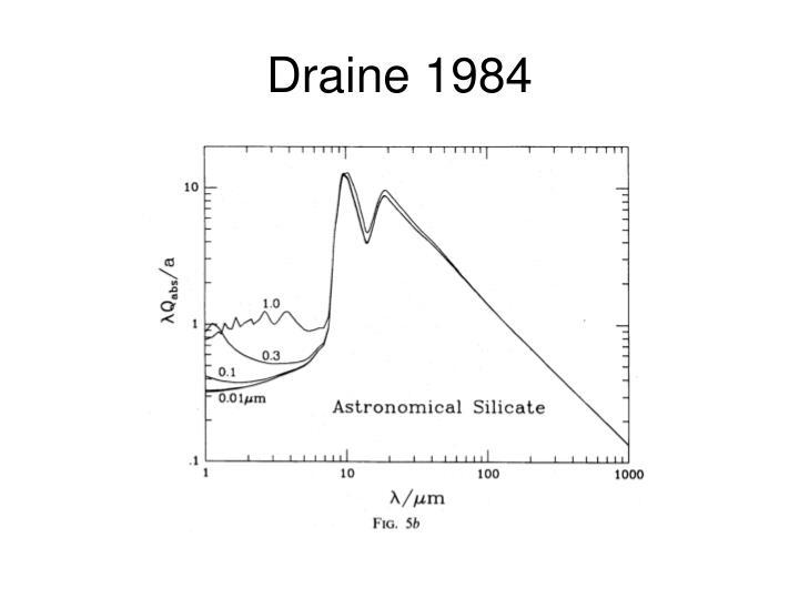 Draine 1984