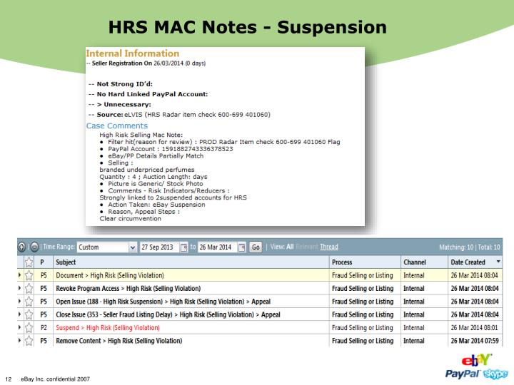 HRS MAC Notes - Suspension