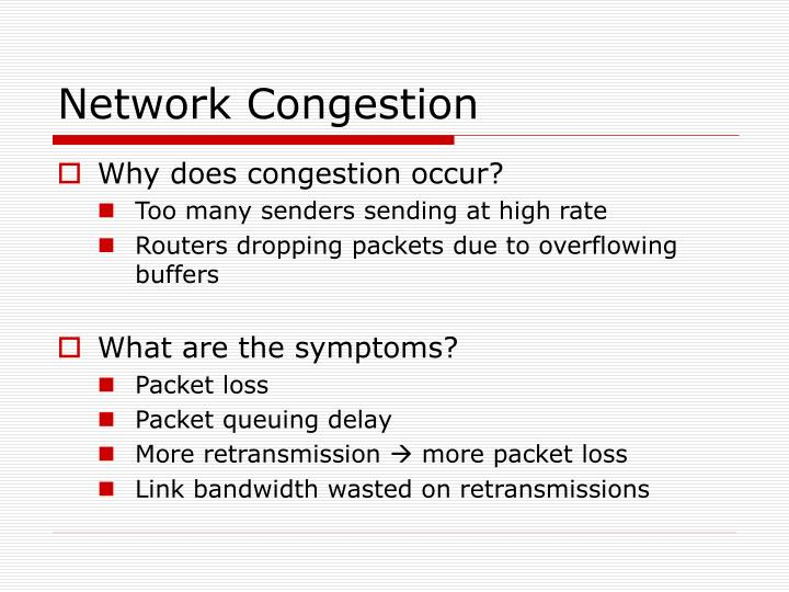 Network Congestion