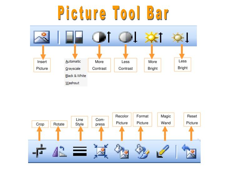 Picture Tool Bar