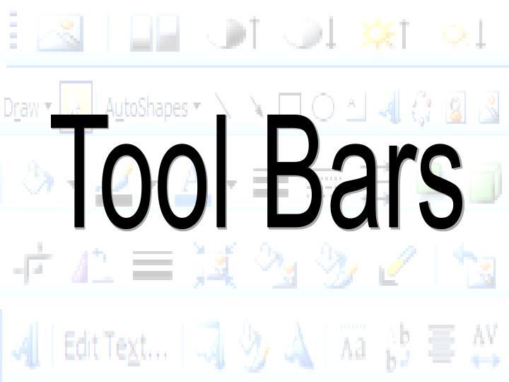 Tool Bars
