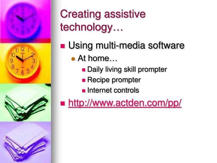 Creating assistive technology…