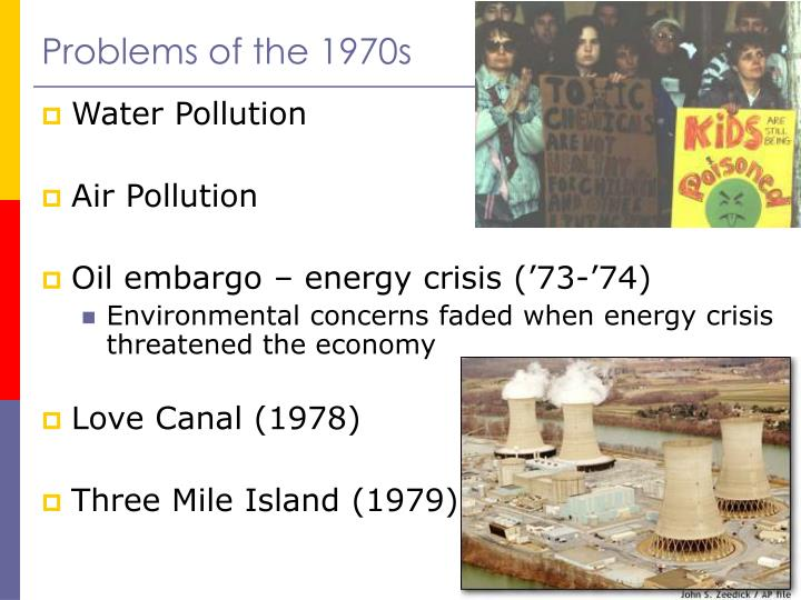 Problems of the 1970s