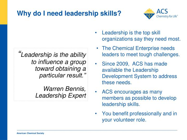 Leadership is the top skill organizations say they need most.