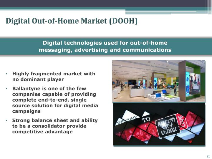 Digital Out-of-Home Market (DOOH)