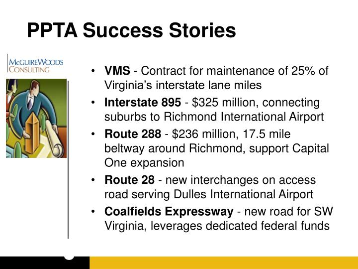 PPTA Success Stories