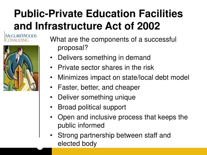Public-Private Education Facilities and Infrastructure Act of 2002