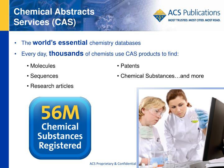 Chemical Abstracts Services (CAS)
