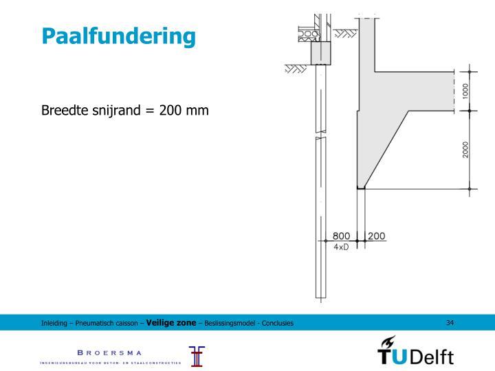 Paalfundering