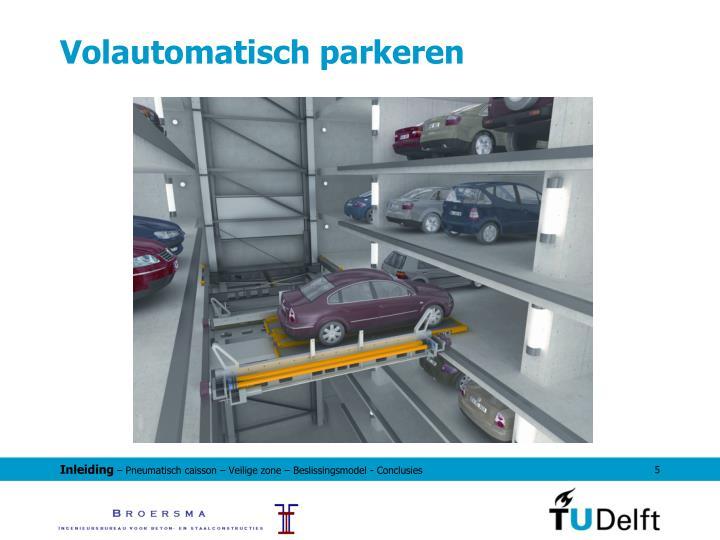 Volautomatisch parkeren