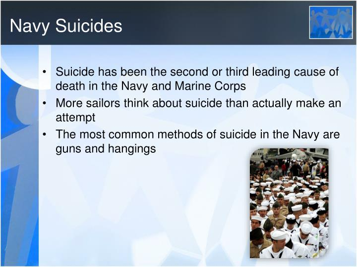 Navy Suicides