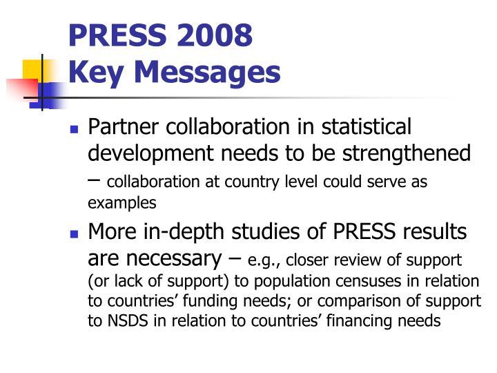 PRESS 2008
