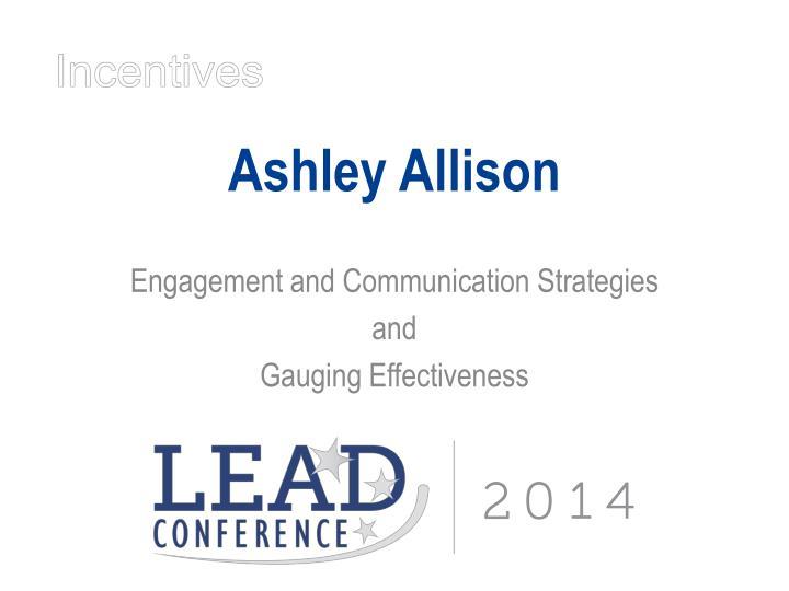 Ashley Allison