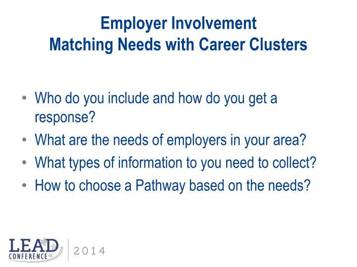 Employer Involvement