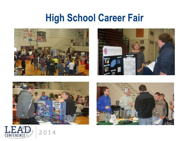 High School Career Fair