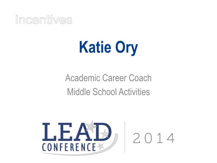 Katie Ory