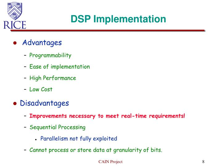 DSP Implementation