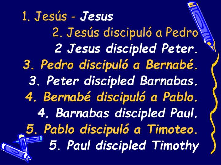 1. Jesús -
