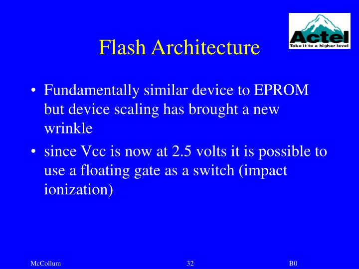 Flash Architecture