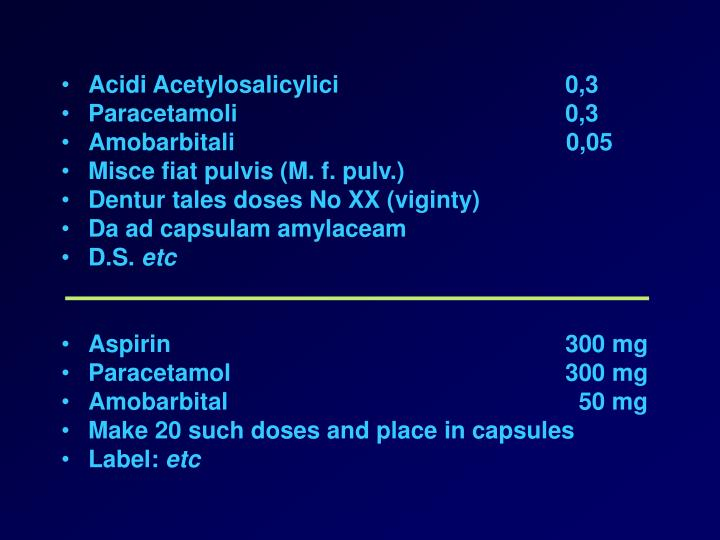 Acidi Acetylosalicylici 0,3
