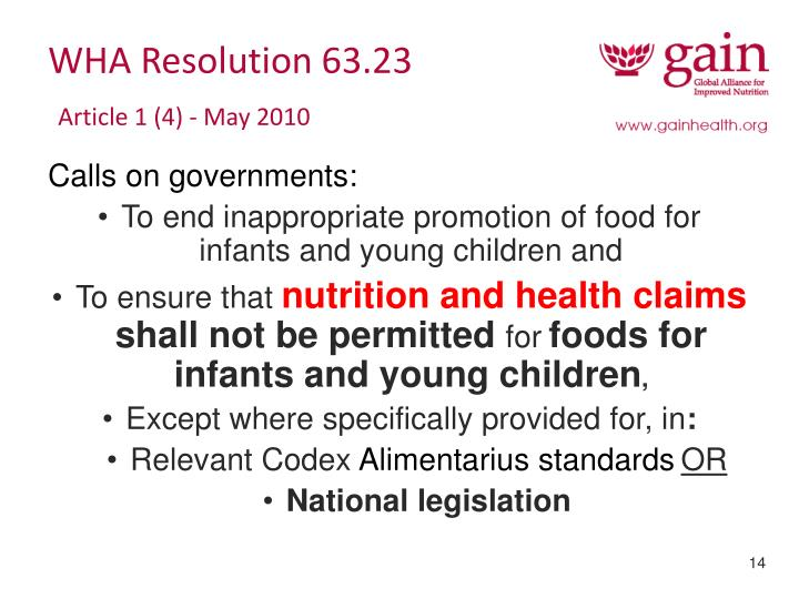 WHA Resolution 63.23