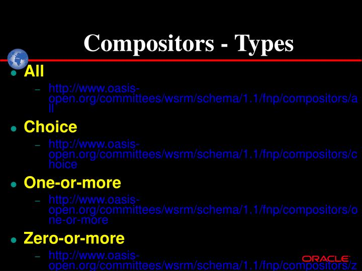 Compositors - Types