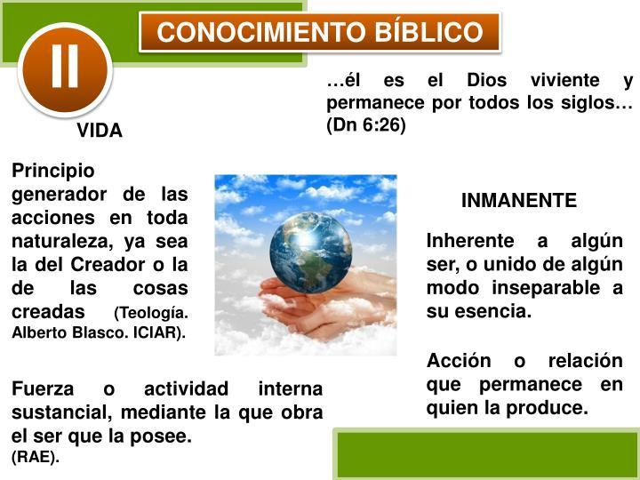 CONOCIMIENTO BÍBLICO
