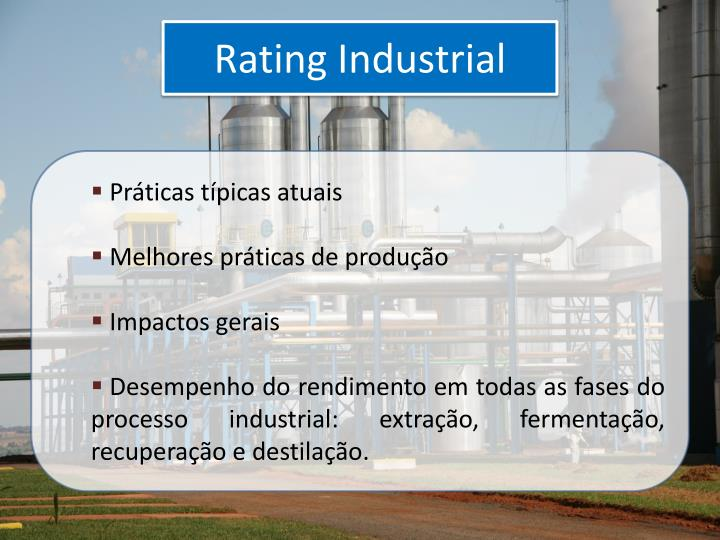 Rating Industrial