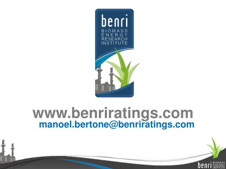 www.benriratings.com