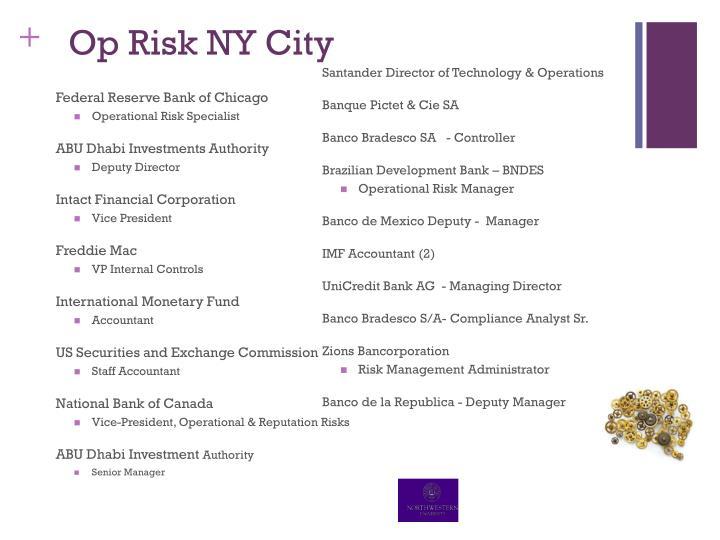 Op Risk NY City