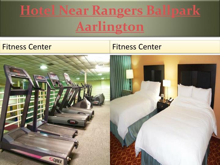 Hotel Near Rangers Ballpark