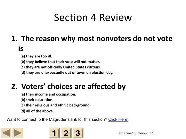 Section 4 Review