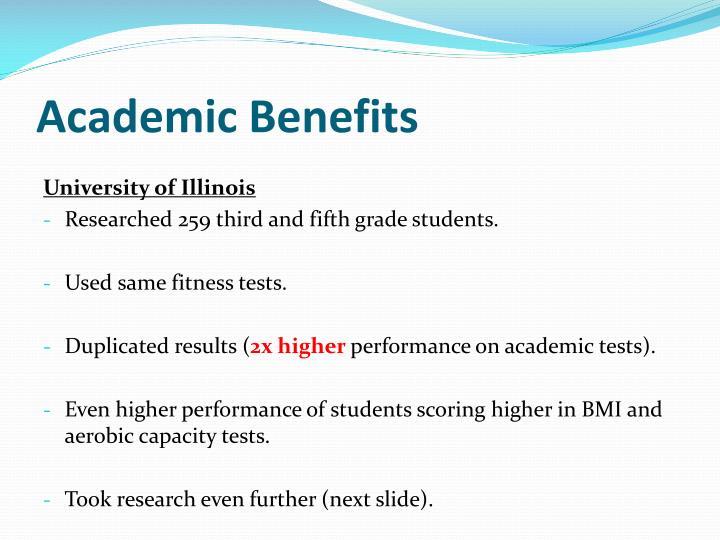 Academic Benefits