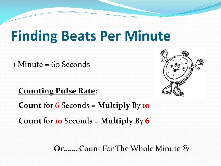 Finding Beats Per Minute
