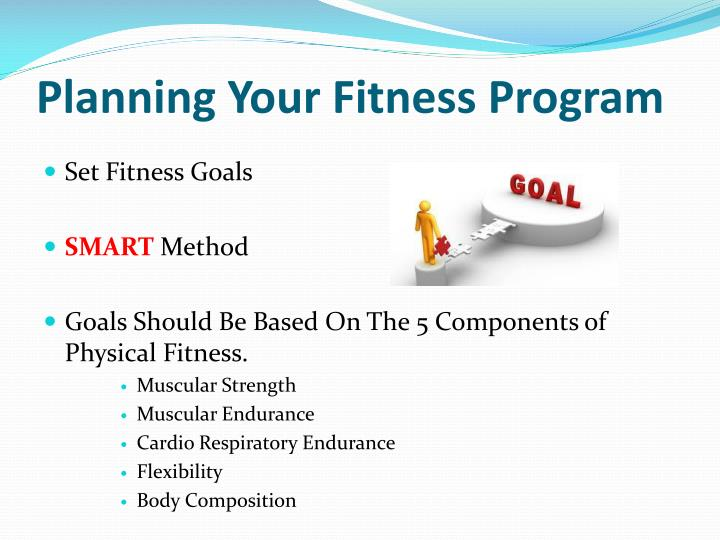 Planning Your Fitness Program
