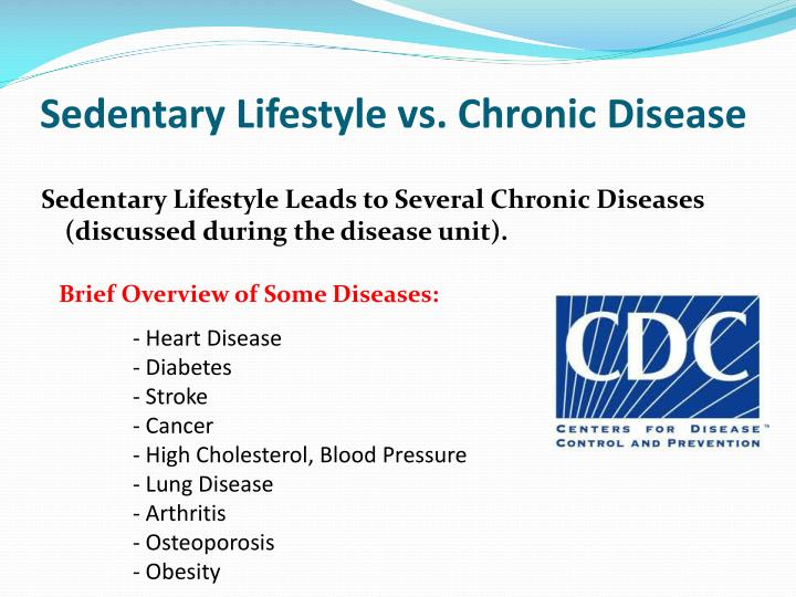 Sedentary Lifestyle vs. Chronic Disease
