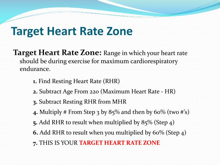 Target Heart Rate Zone