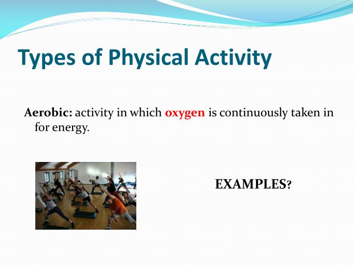 Types of Physical Activity